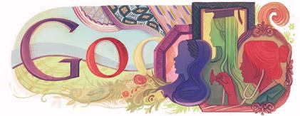Logo Google del 08 de marzo de 2011