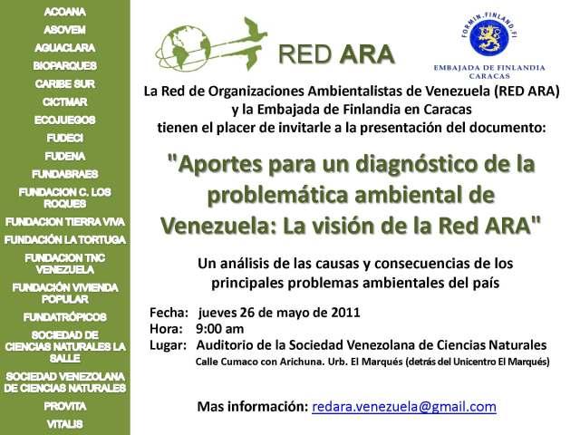 La RED ARA invita... Caracas jueves 26 de mayo de 2011
