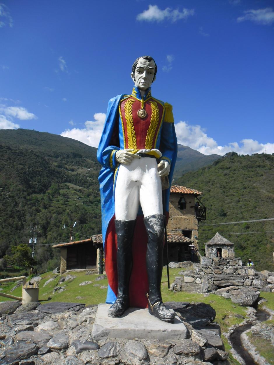 Simón Bolívar (24/07/1783 - 17/12/1830)