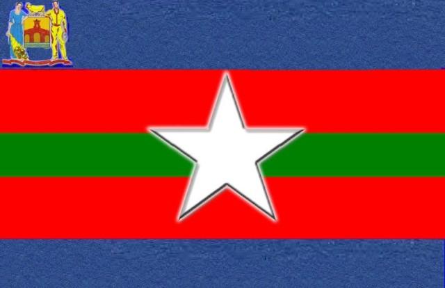 Bandera del Municipio Alberto Adriani del Estado Mérida