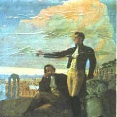 Bolívar en el Monte Sacro