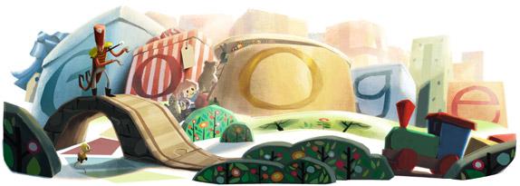 ¡Felices fiestas! Por Google