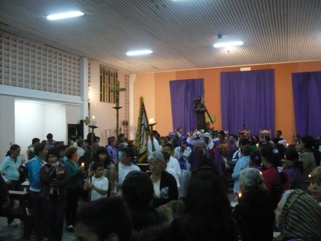 Semana Santa en Los Curos 20/04/2011
