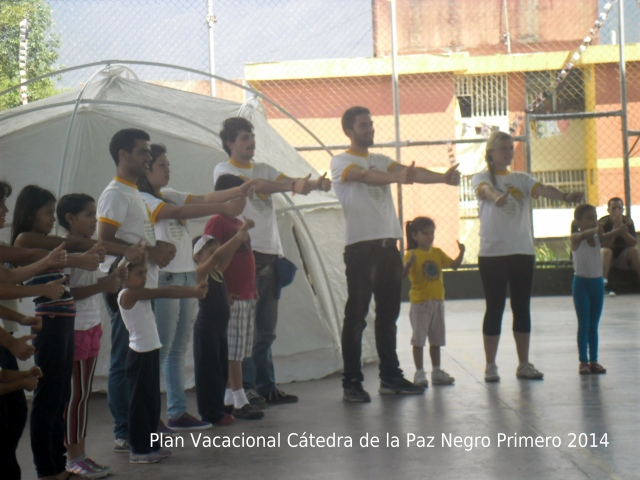 Plan Vacacional de Cátedra de la Paz en Los Curos 2014