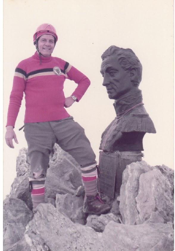 Dr. Carlos Chalboud Zerpa en la cumbre del Pico Bolívar