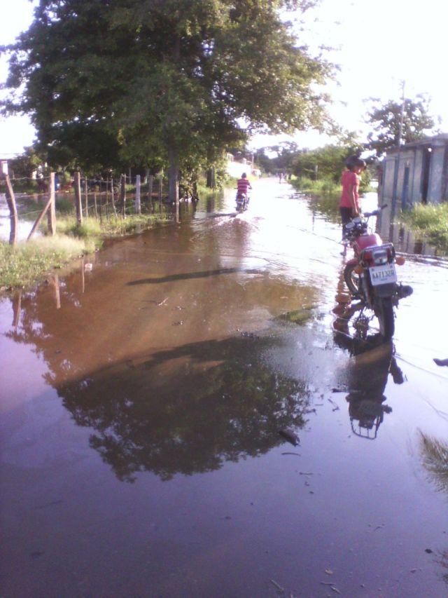 Inundaciones en Guasdualito. Julio 2015