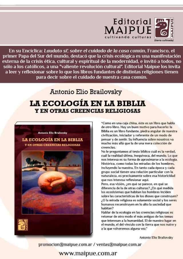 Ecologia en la Biblia